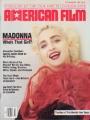 MADONNA American Film (7-8/87) USA Magazine