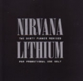 NIRVANA Lithium The Dirty Funker Remixes UK 12`` DJ Promo