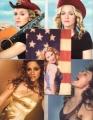 MADONNA Set Of 5 USA Postcards Set