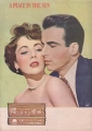 ELIZABETH TAYLOR A Place In The Sun JAPAN Movie Program
