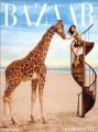 DEMI MOORE Harper's Bazaar (4/10) USA Magazine
