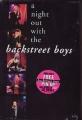 BACKSTREET BOYS A Night Out With The Back Street Boys LIVE USA Video w/Calendar + Free Bonus CD5