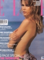 CLAUDIA SCHIFFER Elle (8/92) UK Magazine