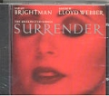 SARAH BRIGHTMAN Andrew Lloyd WEBER The Unexpected Songs SURRENDE