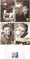 U2 When Love Comes To Town UK Set of 4 Postcards Promo Only