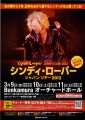CYNDI LAUPER 2012 JAPAN Tour Flyer