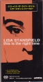 LISA STANSFIELD This Is The Right Time JAPAN CD3