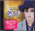 BOY GEORGE Taboo 2003 Original Broadway Cast Recording USA CD