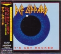 DEF LEPPARD Let's Get Rocked JAPAN CD5 w/4 Tracks
