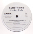 EURYTHMICS I've Got A Life USA Double 12