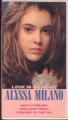ALYSSA MILANO Look In My Heart JAPAN VHS Video w/4 Tracks