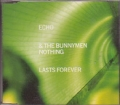 ECHO AND THE BUNNYMEN Nothing Lasts Forever UK CD5