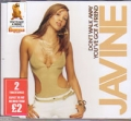 JAVINE Don`t Walk Away/You`ve Got A Friend EU CD5