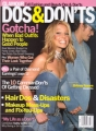 BRITNEY SPEARS Glamour Do's & Don'ts (Fall/2001) USA Magazine