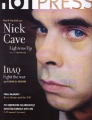NICK CAVE Hot Press (2/6/03) UK Magazine