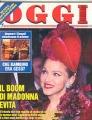MADONNA Oggi (12/27/96) ITALY Magazine