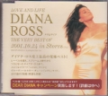 DIANA ROSS Love And Life JAPAN CD Promo Sampler w/20 Tracks