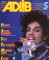 PRINCE Adlib (5/85) JAPAN Magazine