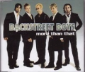 BACKSTREET BOYS More Than That UK CD5 w/Mixes