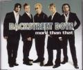 BACKSTREET BOYS More Than That UK CD5 w/Mixes