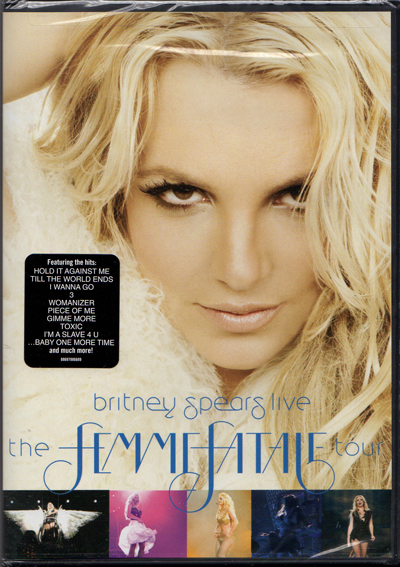 Britney Spears Live The Femme Fatale Tour Usa Dvd