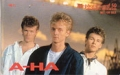 A-HA Warner Pioneer JAPAN Telephone Card