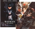 BATMAN RETURNS Original Japan Souvenir Movie Progam! TIM BURTON