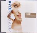 KYLIE MINOGUE Giving You Up UK CD5 w/2 Tracks