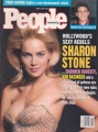 SHARON STONE People Weekly (4/5/93) USA Magazine