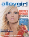 BRITNEY SPEARS Alloy Girl (Holiday 2001) USA Magazine