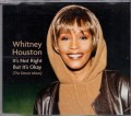 WHITNEY HOUSTON It's Not Right But It's Okay EU CD5 w/4 Mixes