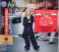 AVRIL LAVIGNE Let Go JAPAN CD w/Extra Track+DVD+Logo Sticker