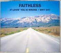 FAITHLESS w/BOY GEORGE of CULTURE CLUB If Lovin' You Is Wrong UK CD5