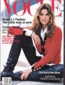 CINDY CRAWFORD Vogue (8/93) USA Magazine
