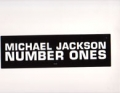 MICHAEL JACKSON Number Ones USA 2LP Promo