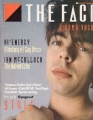 ECHO AND THE BUNNYMEN The Face (8/84) UK Magazine
