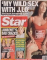 JENNIFER LOPEZ Star (3/19/02) USA Magazine