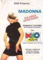 MADONNA Girlie Show FRANCE Flyer