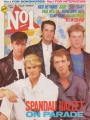 SPANDAU BALLET Number One (6/2/84) UK Magazine