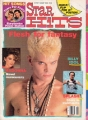 BILLY IDOL Star Hits (8/85) USA Magazine