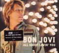 BON JOVI All About Lovin' You UK DVD w/Demos, Video & EPK