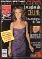 CELINE DION 7 Jours (11/14/98) CANADA Magazine