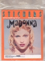 MADONNA 1993 USA Sticker
