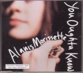 ALANIS MORISSETTE You Oughta Know GERMANY CD5 w/4 Tracks