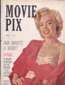MARILYN MONROE Movie Pix (4/53) USA Magazine