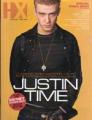 JUSTIN TIMBERLAKE HX (#583, 11/8/02) USA Magazine