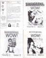BANANARAMA Wow! (Volume 2) Set of 4 USA Fanzines