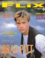 BRAD PITT Flix (6/97) JAPAN Movie Magazine