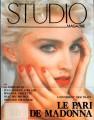 MADONNA Studio (7-8/90) FRANCE Magazine