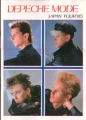 DEPECHE MODE 1985 JAPAN Tour Program Super Rare!!